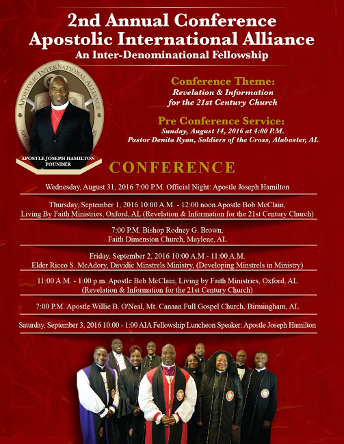 2nd Annual Conference of the Apostolic International Alliance – Zion